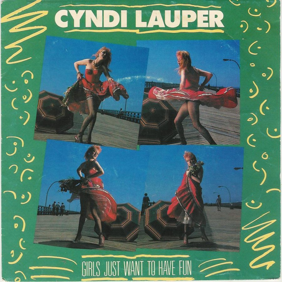 Cyndi Lauper's album cover. Photo Credit: fridirock.blogspot.com