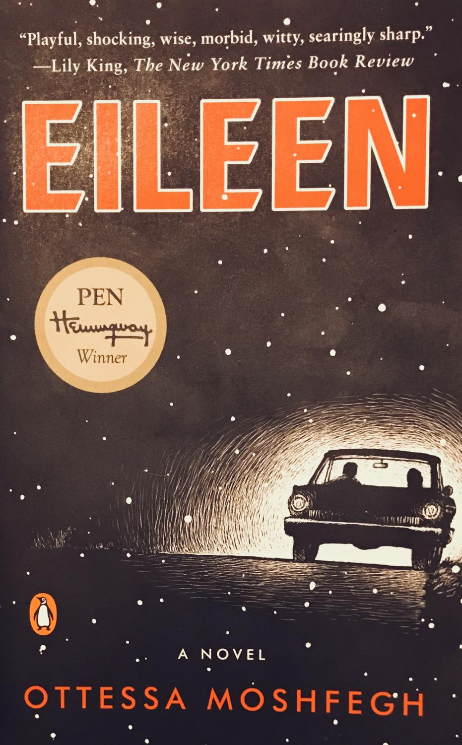 The cover of the book Eileen. Photo Credit: Fiona McAleer