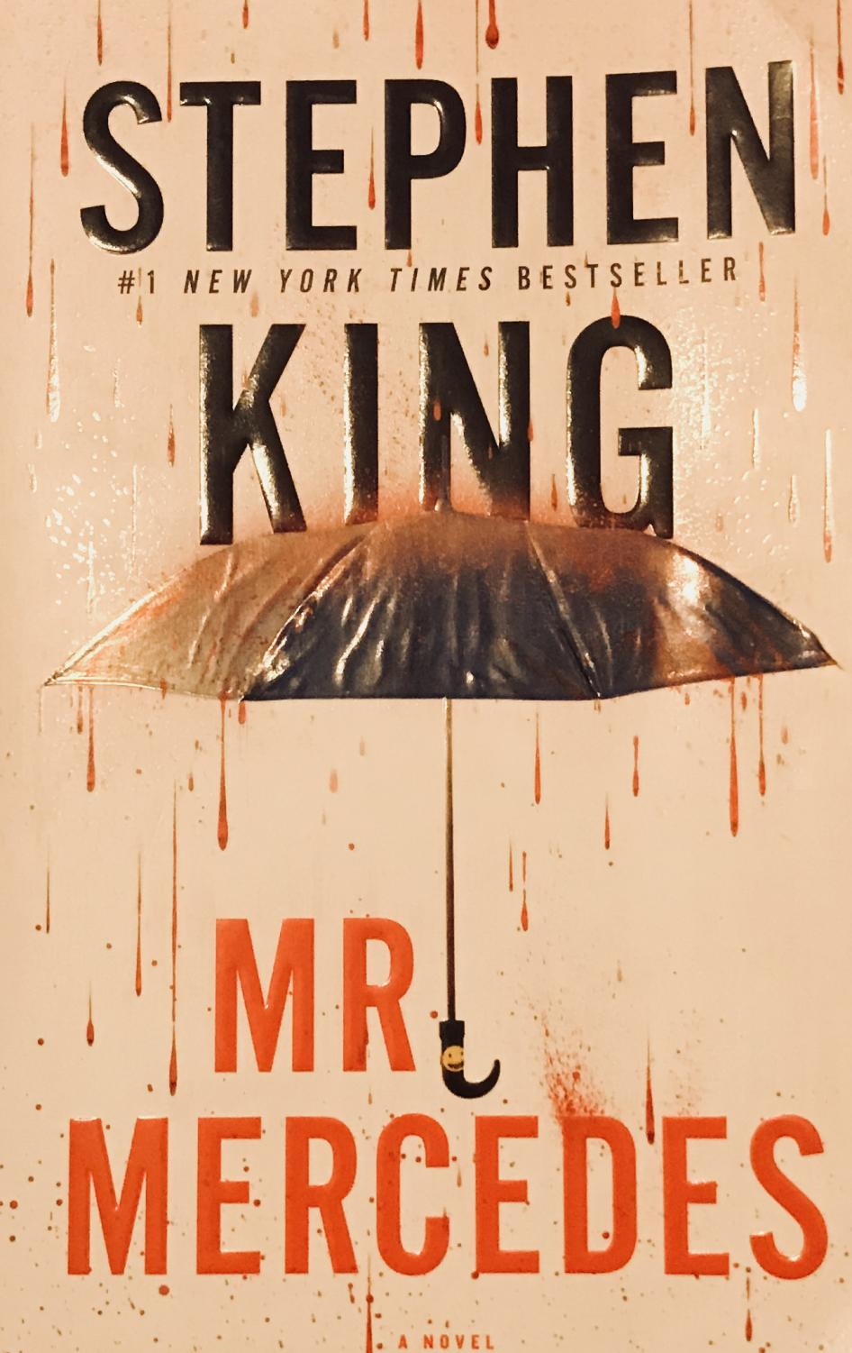 The cover of Stephen King's Mr. Mercedes. Photo Credit: Fiona McAleer
