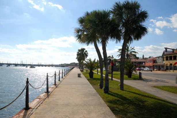 Walk+along+the+river+walk+in+St.+Augustine.+Photo+Credit%3A+Public+Domain+Pictures
