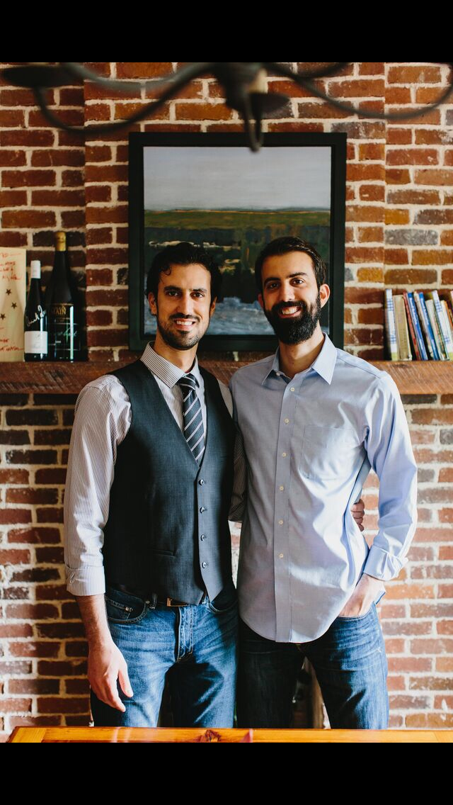 Ryan Pernice (right) and his brother Daniel(left) are working towards making quality restaurants for the Roswell area.| Photo: Ryan Pernice