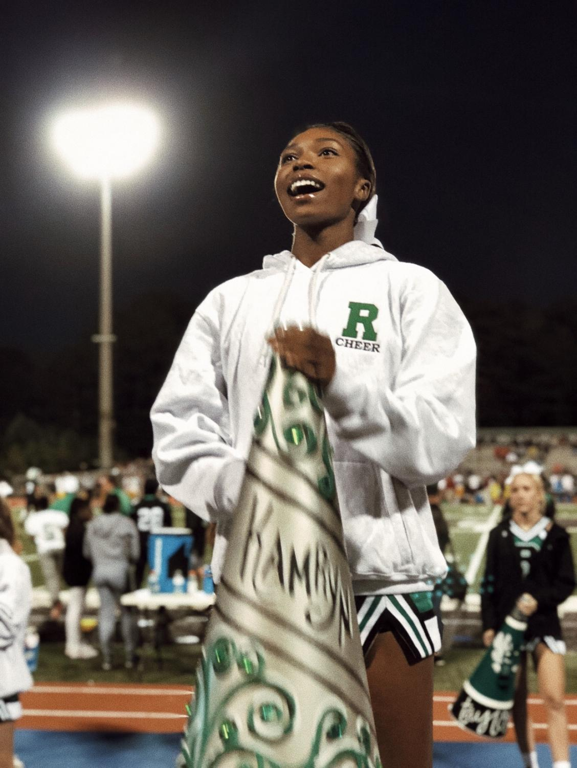 """My smile when Roswell is in the lead, is brighter than no other! I love supporting the boys"" says Kamryn.