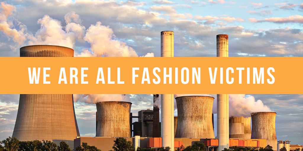 The fashion industry has a devastating impact on people and the environment. Graphics credit: Sofie Salcedo