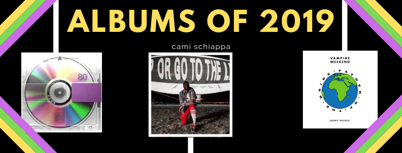 Albums+pictured%3A+Kanye+West%27s+Yandhi%2C+2+Chainz%27s+Rap+Or+Go+to+the+League%2C+Vampire+Weekend%27s+Father+of+the+Bride.+%7C+Credit%3A+Cami+Schiappa+