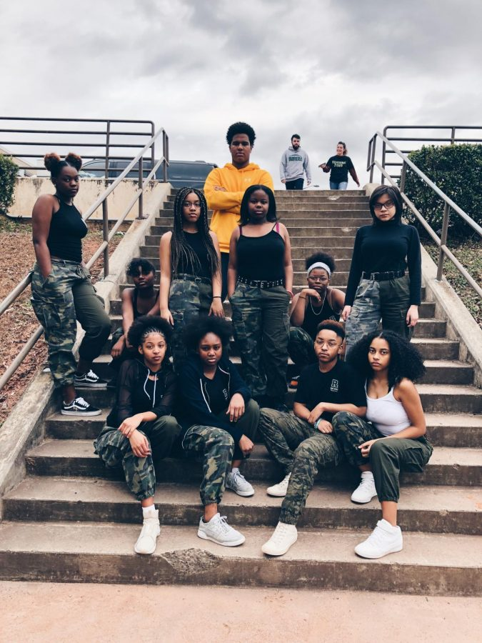 The step team is back!