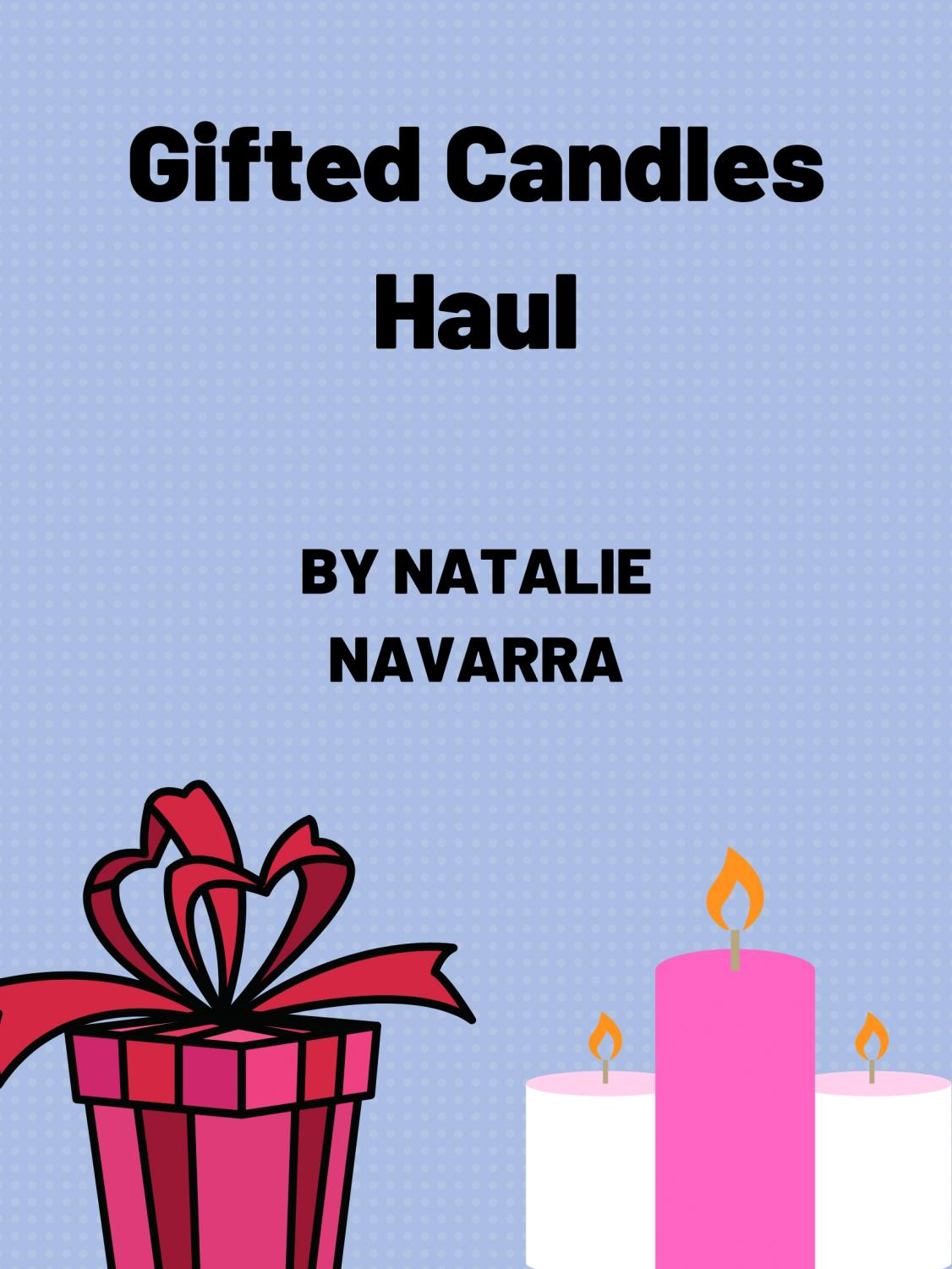 Graphic Candle: Natalie Navarra