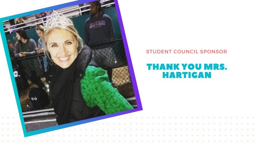 A look at Mrs. Hartigan's legacy as Student Council sponsor