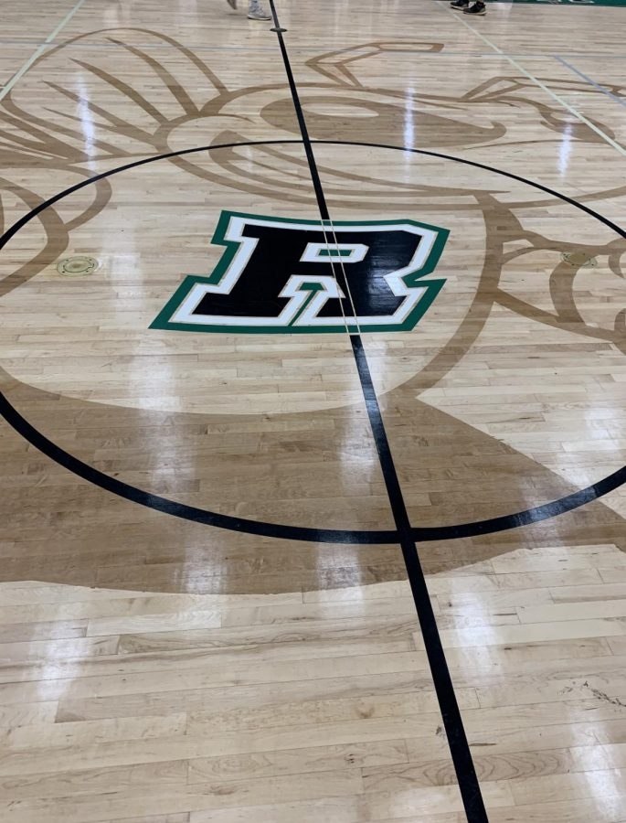 Roswell Hornets basketball home court. Photo Credit: Grady Johnson