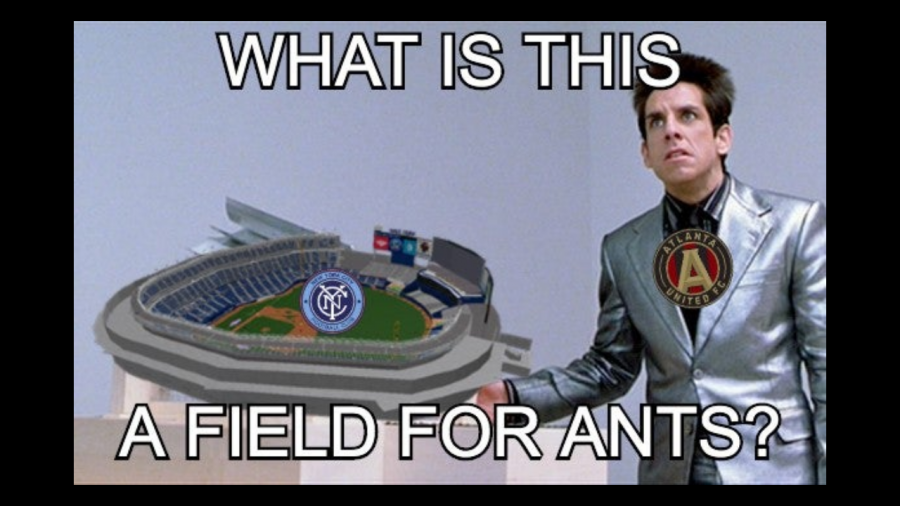 New York City's pitch should not be legal in MLS. Credit: Rajath Prabhakar