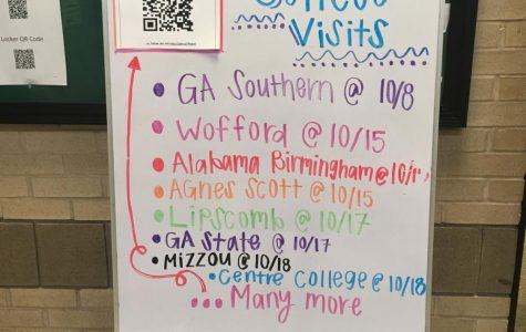 A look at Student Services college visits