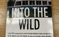 """This is a copy of """"Into The Wild"""" that includes a new afterword. Photo Credit: Ansley Tanner"""