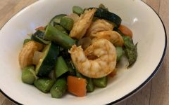 Cooking with Gabby: Shrimp skillet