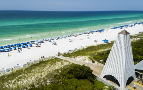 This is one of the main attractions Seaside is known for, this big triangle shaped structure leading towards the beach. Photo Credit: southernliving.com