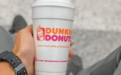 "Trying out ""The Charli"" from Dunkin' Donuts.  Photo cred: Zheka Boychenko"
