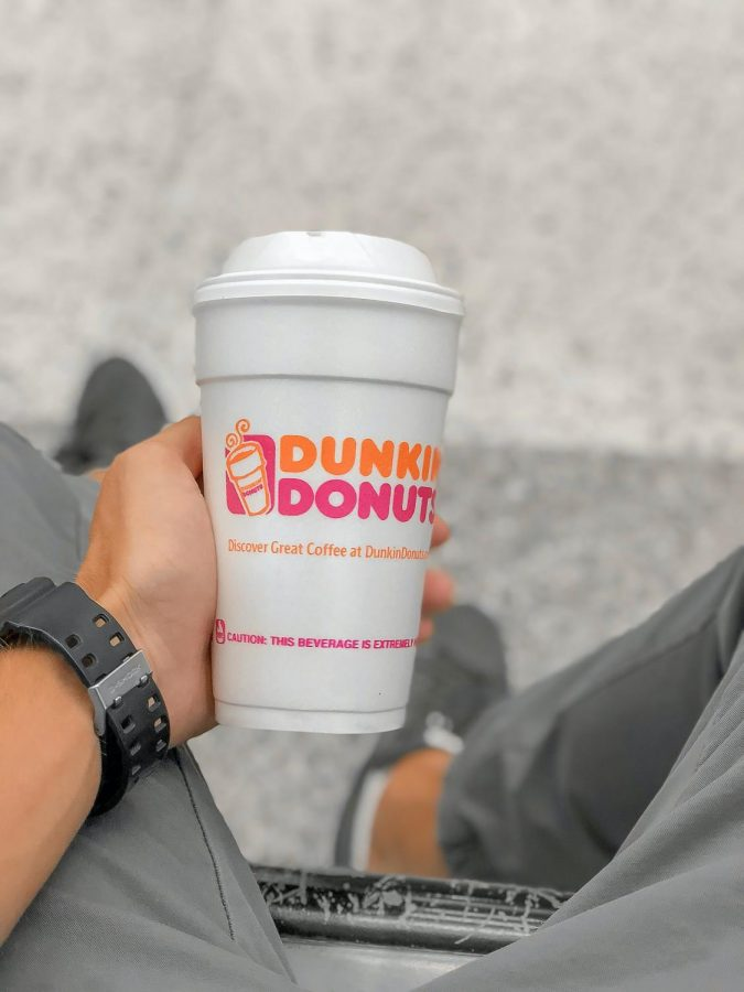 """Trying out """"The Charli"""" from Dunkin' Donuts.  Photo cred: Zheka Boychenko"""