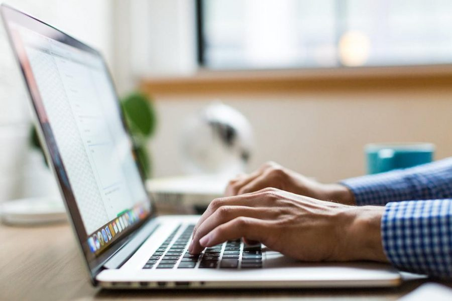 Students are finding it easier and more efficient to work from the comfort of their own homes. Photo Credit: Unsplash