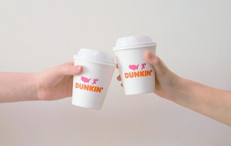 Above shows the cheaper fall drink option: Dunkin coffee.  Photo Credit: Unsplash