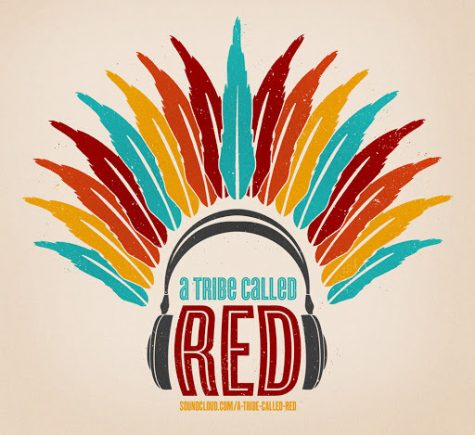 A Tribe Called Red pay homage to their Indigenous heritage with their colorful graphic