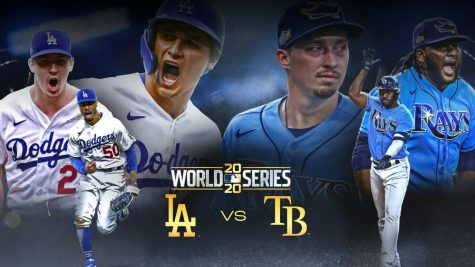 The Rays and the Dodgers fought out the world series tough and hard! Photo credit: www.si.com