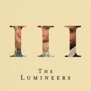 Album Cover by the Lumineers, showing a part of each of the Spark's family's faces