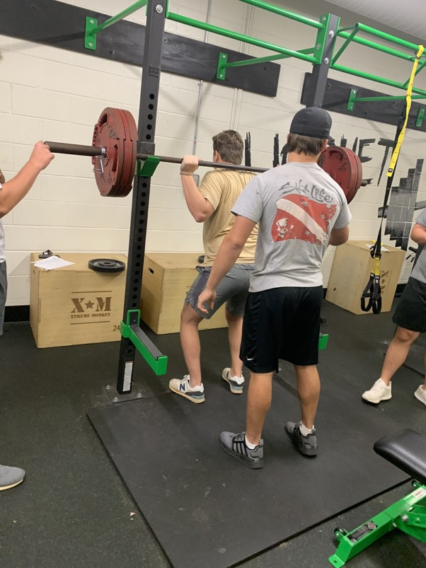 The Roswell baseball players have been working out for a little over two months and are getting ready for their 2020 season.