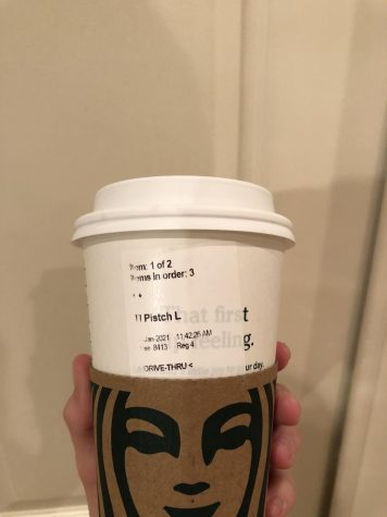 New Starbucks pistachio latte, 5/10. Photo Credit- Cecilia Rubio