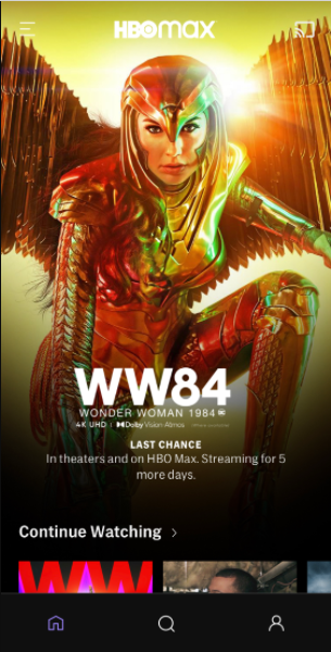 WW84 is streaming on HBO max and in theaters. (Credit: Bella Dombrowski)