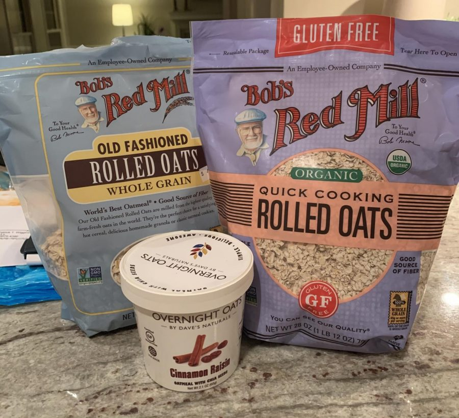 Variety of oats that can be found at many grocery stores and have a lasting taste. photo credit: Alli Wiggins