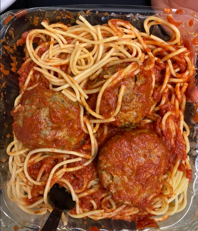 From classic spaghetti and meatballs to wings Lucia's has a delicious option for every member of your family at affordable prices. Photo by Ashley Meyer