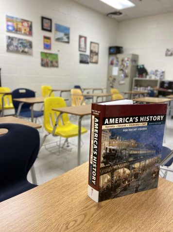 Will classrooms sit empty or will they be filled with AP test takers this May?  Photo credit: Claire Mulkey