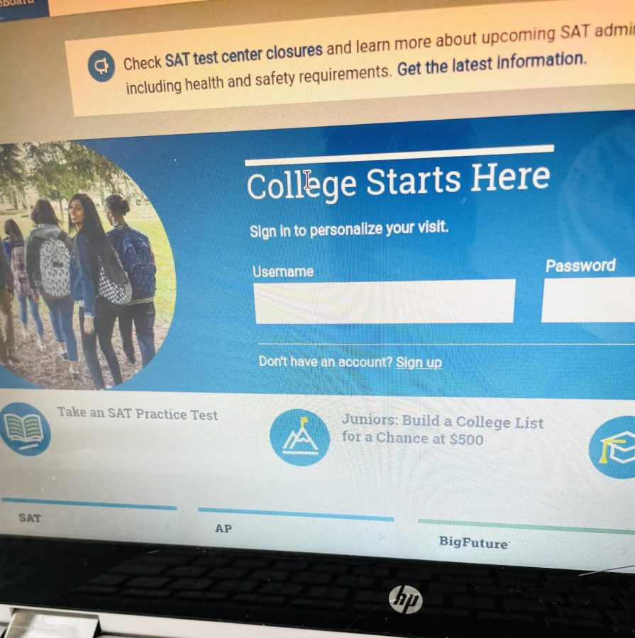 Submission of ACT and SAT scores should be required