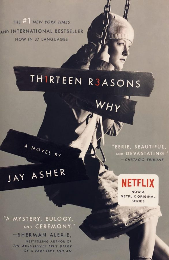 Through this book, Asher explores mental illness within the high school halls. Photo Credit: Fiona McAleer