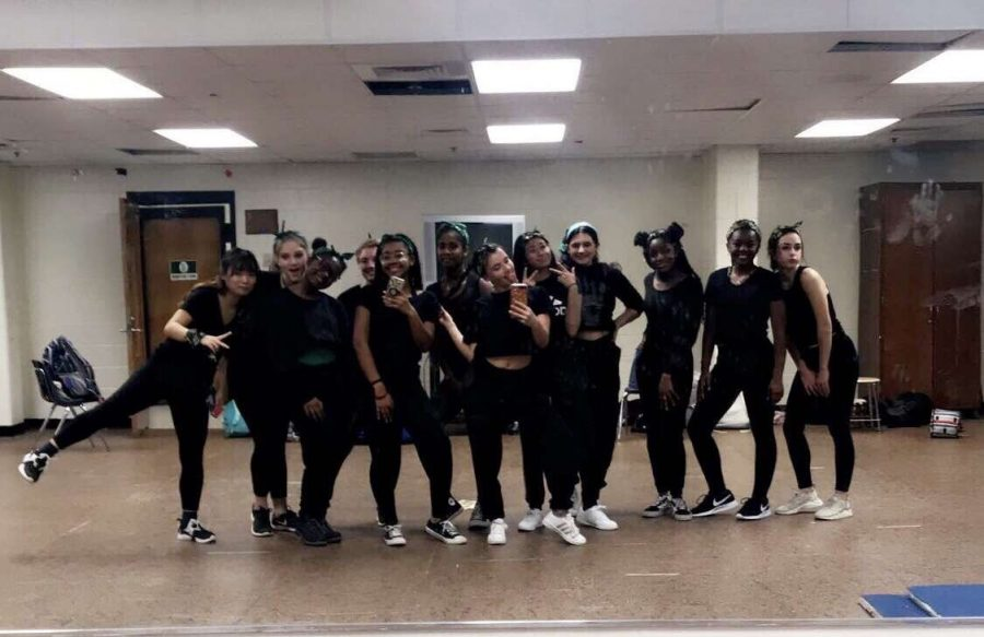 The confident, carefree, and stylish girls of RHSDT take a quick mirror selfie before they go out on stage and perform! |Credit: Gigi Owen