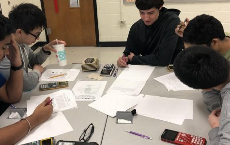 Math team takes on Tri-Wizard math competition