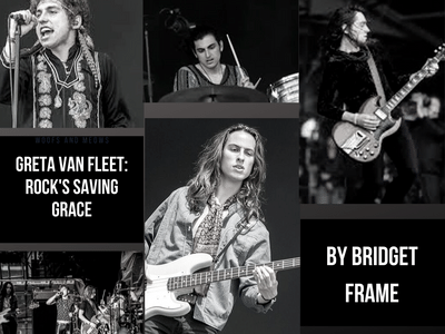 Greta Van Fleet is a rock band taking the genre by storm.  Graphic Credit: Bridget Frame