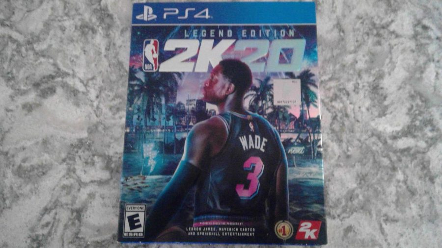 Future+Hall+of+Fame+member%2C+Dwayne+Wade+on+the+cover+of+the+Legendary+edition+of+NBA+2K20.+Photo+Credit%3A+Noah+Goulbourne
