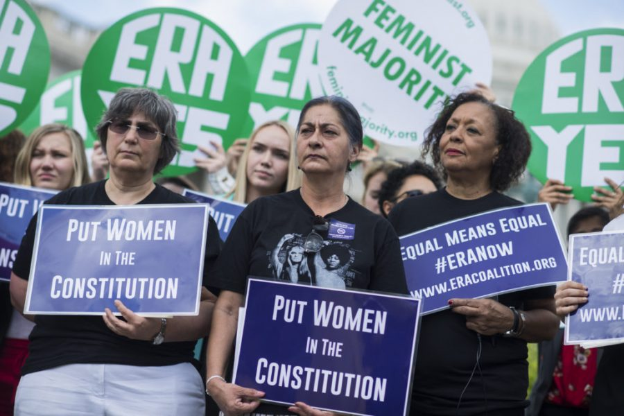 48 years later, women all across the country are still fighting for the passage of the ERA into the Constitution. Credit: PBS.org