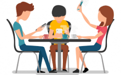 Do you think you spend too much time on your devices? I personally do, and I want to get to the bottom of finding substitutes to staying glued to my phone! Photo Credit: bankmycell.com