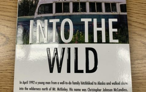 "This is a copy of ""Into The Wild"" that includes a new afterword. Photo Credit: Ansley Tanner"