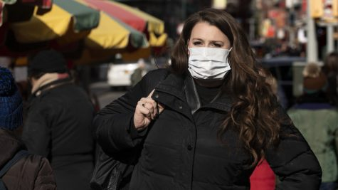 Since the spread of Coronavirus, people have now started to wear paper masks to protect themselves. Photo cred: NPR