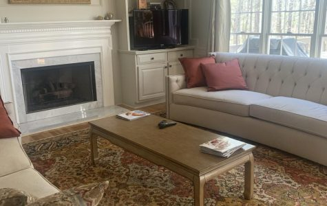 My living room in all its glory! Photo Credit: Natalie Navarra