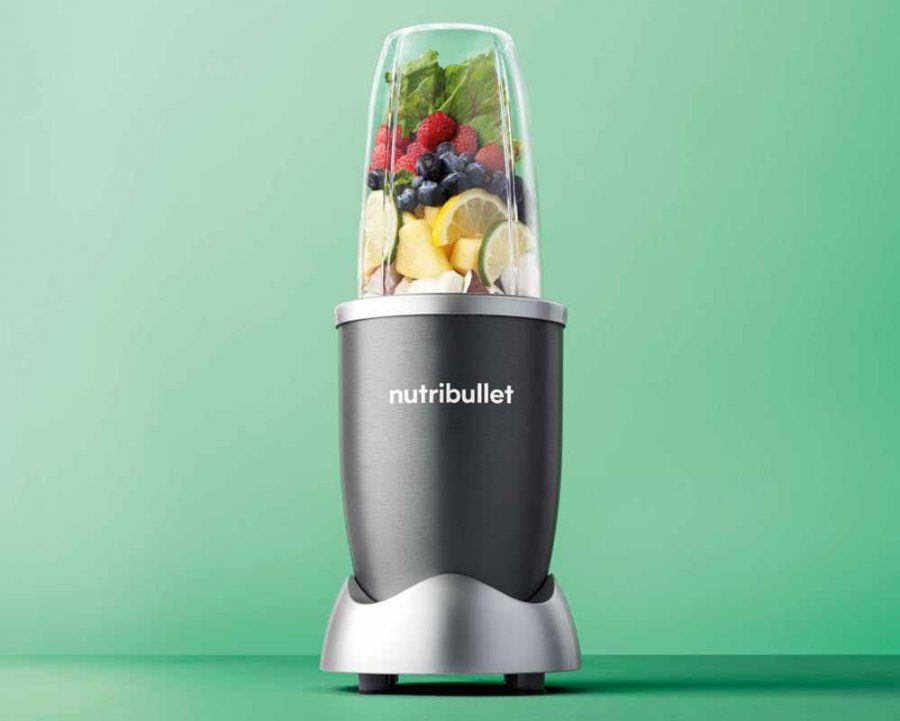 The Nutribullet is an easy and fast way to make your favorite mixtures of drinks and shakes.