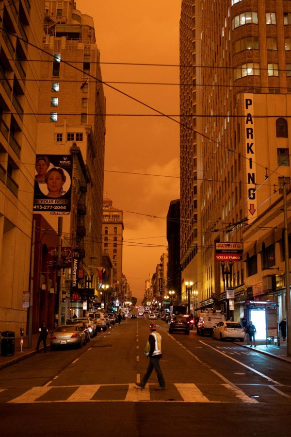 Urban areas and the wildfires. Photo credit: Tegan Mierle