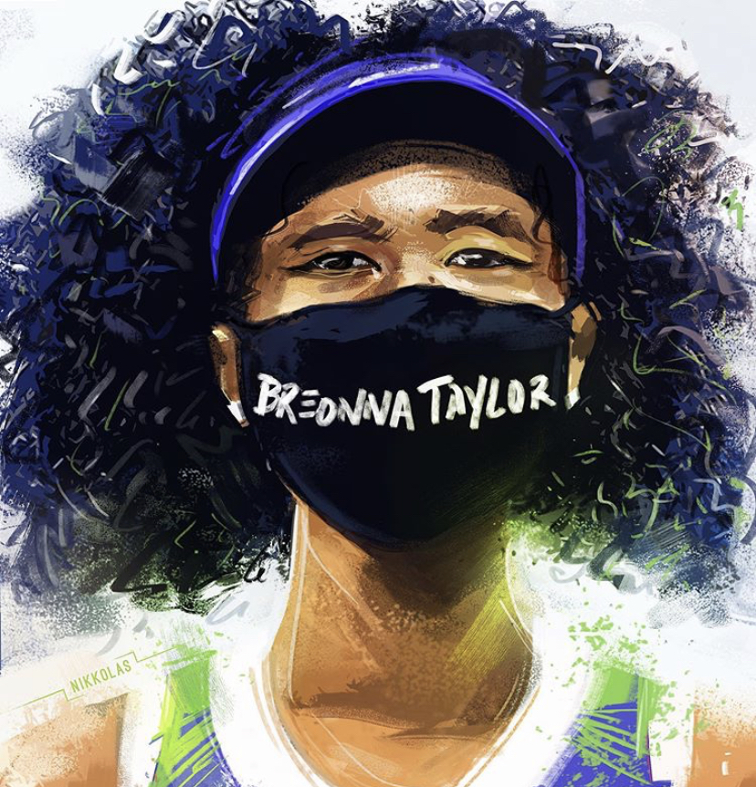Breonna Taylor's case has caused many protests and riots because of people's beliefs that she was treated unfairly because of the color of her skin. photo credits: @nikkolas_smith