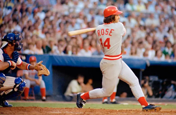 This article talks about why Pete rose deserves to be in the hall of fame.  Photo Credit:  Blog Red Machine