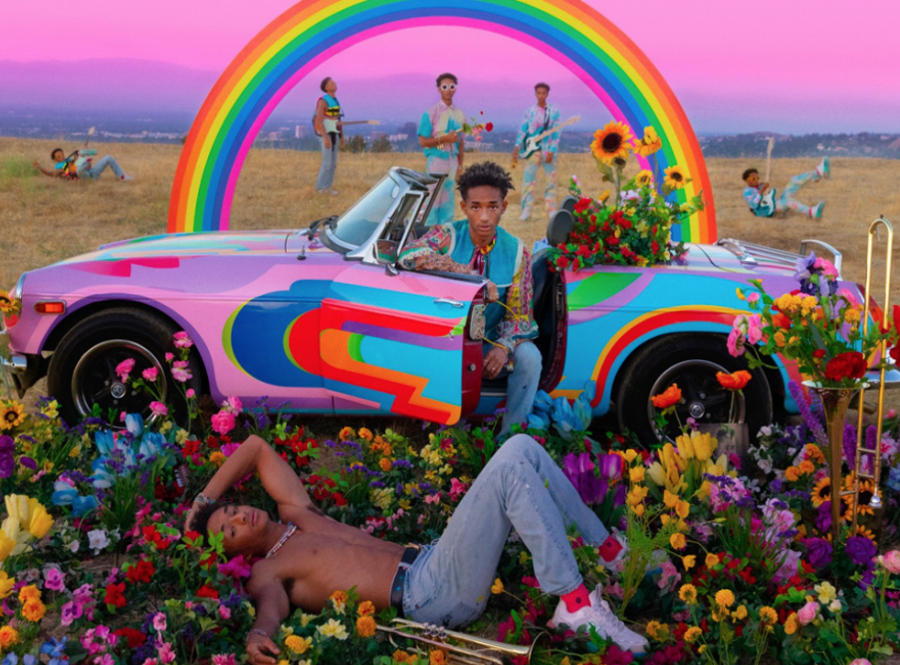 To pair with the new musical style Jaden Smith experimented with throughout this mixtape, he created a different, but well executed new artistic style for the cover of the mixtape.
