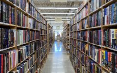 There are rows and rows like this of books throughout the entire store creating the perfect environment for a cozy, crisp fall day of browsing the endless maze of books.