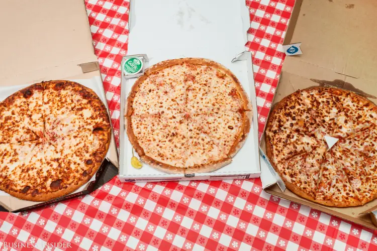 The three kings of pizza