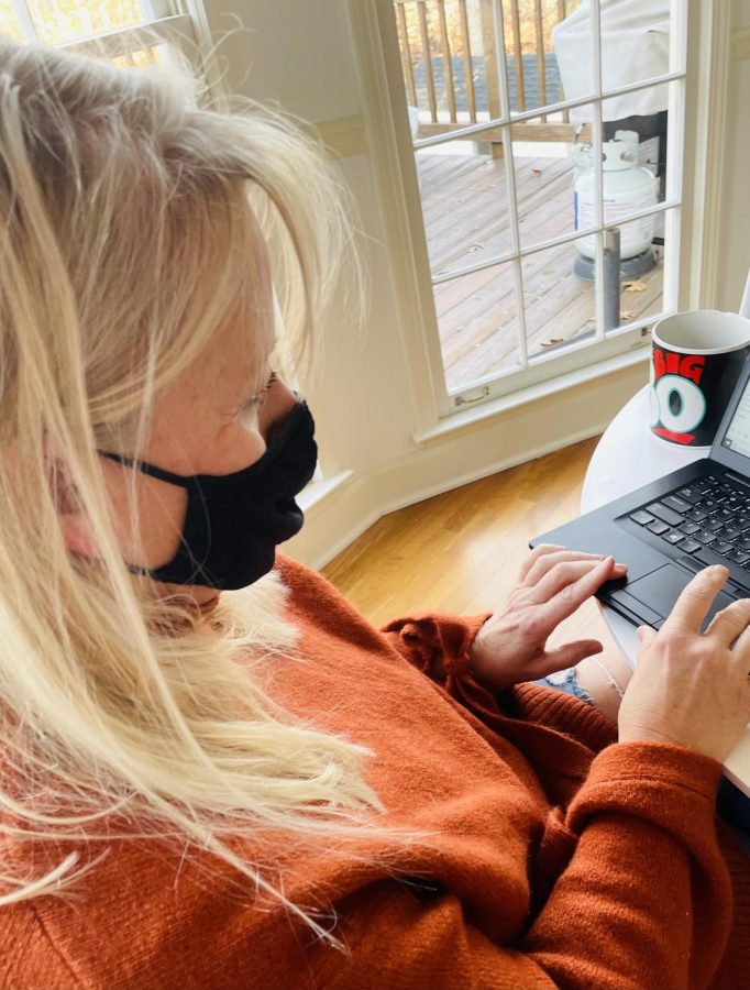 """"""" People have to wear mask and take precaution of second pandemic  because the true origin has yet to be discovered"""" ( photo by Gracie Ross)."""