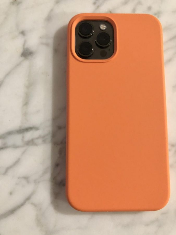 The difference in camera quality can also be noted in the new layout of the back of the iPhone 12 Pro Max.  Photo credits: Gemma Mueller-Hill